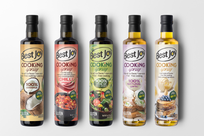 best joy cooking spray opakowanie
