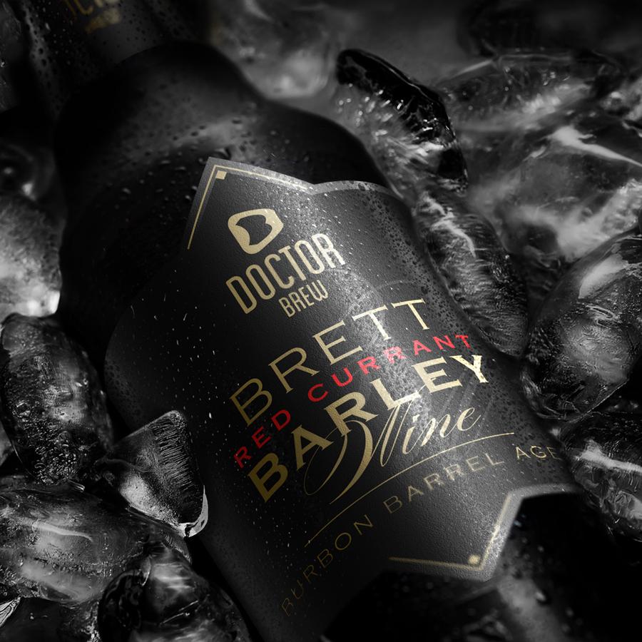 MoProject: Doctor BREW Brett Red Currant Barley Wine Bourbon Barrel Aged