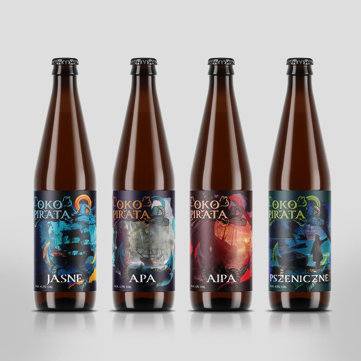 Projekt Etykieta piwa