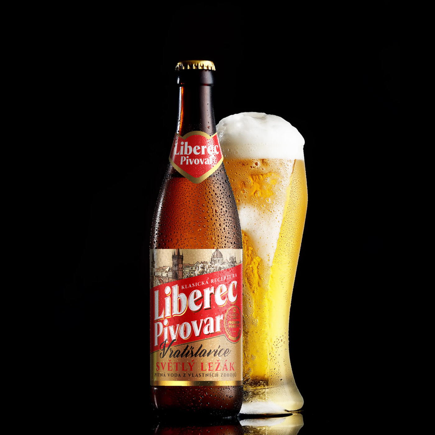 Projekt Beer label design